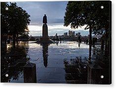General Wolfe On Greenwich Hill Acrylic Print by Wayne Molyneux