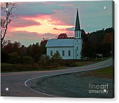 God's Country Acrylic Print by Christian Mattison