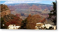 Grand Canyon Panoramic Acrylic Print by The Kepharts