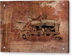 Grandpa's Old Tractor Acrylic Print