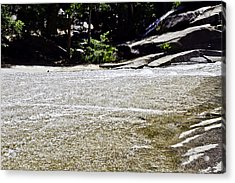 Granite River Acrylic Print