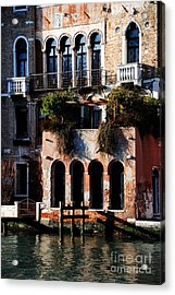 Great Digs In Rialto Acrylic Print by Jacqueline M Lewis