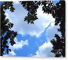 Heavens Above Us -digital Art Acrylic Print by Robyn King