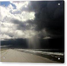 Hurricane Glimpse Acrylic Print by Karen Wiles
