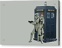 163. Inform Lord Vader We Have The Tardis Acrylic Print
