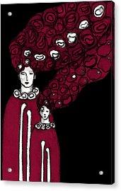 Keepers No 18 Acrylic Print by Milliande Demetriou