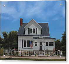 Kenroy Cottage Acrylic Print by Cecilia Brendel