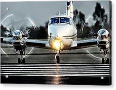 King Air  Acrylic Print by James David Phenicie