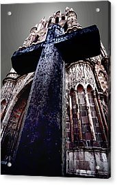 La Parroquia Cross Acrylic Print