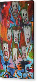 Laughter Acrylic Print by Randall Ciotti
