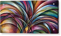 ' Lilys Song 2' Acrylic Print by Michael Lang