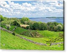 Loch Coirib Acrylic Print by Juergen Klust