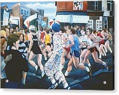 London Marathon Acrylic Print