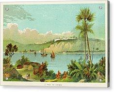 Luanda (sao Paolo De Loanda)  General Acrylic Print by Mary Evans Picture Library