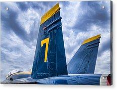 Lucky 7 Blue Angel Acrylic Print by Carter Jones