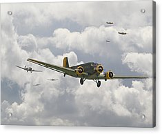 Luftwaffe Ju52  - Stalingrad Acrylic Print by Pat Speirs