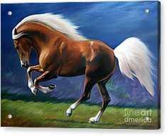Magnificent Power And Motion Acrylic Print