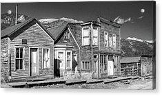 Acrylic Print featuring the photograph  Main Street St Elmo Colorado by Harold Rau