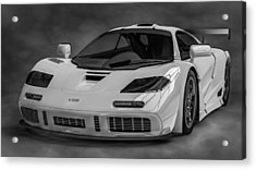 Mclaren F1 Lm Acrylic Print