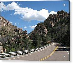 Mount Lemmon Road Acrylic Print