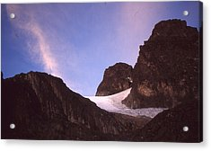 Mountains Of The Moon Africa 1997 Acrylic Print by Rolf Ashby