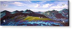 Mourne Mountains 1 Acrylic Print by Anne Marie ODriscoll