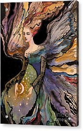 My Guardian Angel Acrylic Print by Valentina Plishchina
