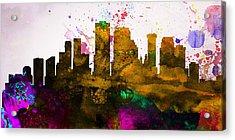 New Orleans City Skyline Acrylic Print