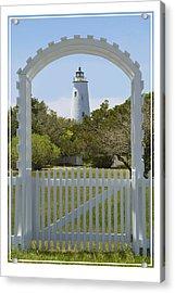 Ocracoke Island Lighthouse Acrylic Print by Mike McGlothlen