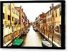 Old Venice Acrylic Print by Steven  Taylor