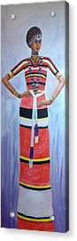 Oromo Lady Acrylic Print
