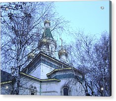 Orthodox Church Acrylic Print