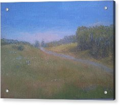 Our Lane In June Acrylic Print