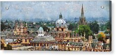 Oxford Panorama Acrylic Print