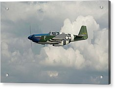 P51 Mustang Gallery - No1 Acrylic Print by Pat Speirs