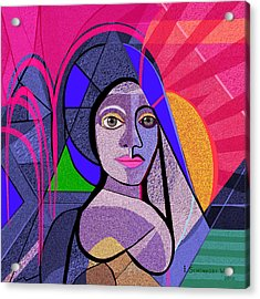 496 - Persephone  Acrylic Print