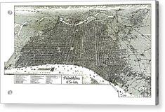 Philadelphia - Pennsylvania - United States - 1887 Acrylic Print by Pablo Romero