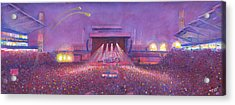 Phish At Dicks Acrylic Print by David Sockrider