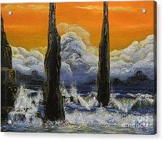 Pilares. Acrylic Print by Daniel Sanchez
