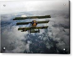 Pioneers Of Aviation Acrylic Print