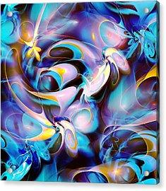 Pleasant Shapes Acrylic Print by Anastasiya Malakhova