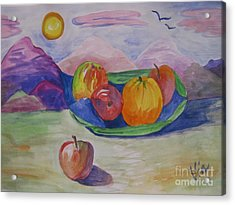 Ptg.fruit In A Landscape 2 Demo Acrylic Print