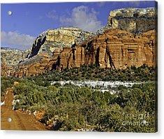Red Rock-secret Mountain Wilderness Acrylic Print