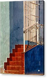Red Steps Acrylic Print