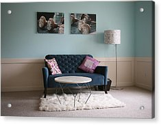 Acrylic Print featuring the photograph  Retro Modern ..... by Lynn England