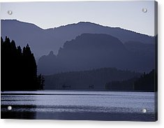 Rimrock Lake Acrylic Print by Gary Neiss