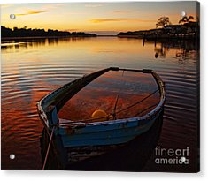 Acrylic Print featuring the photograph  Ripples by Trena Mara