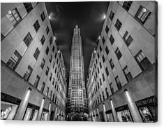 Rockefeller Center - New York - Usa 2 Acrylic Print by Larry Marshall