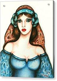 Roman Woman Acrylic Print
