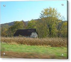 Rural Highway   Acrylic Print by Dina  Stillwell